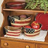 Americana Decorative Pails - Party Decorations & Room Decor