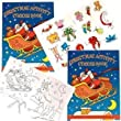 Childrens Christmas Stocking Filler - Christmas Sticker Activity Book