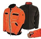 Ashford Wendejacke SAFETY orange, Größen:XL