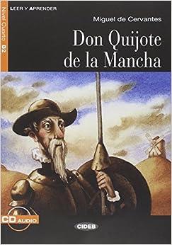 Leer y Aprender: Don Quijote De La Mancha - Book + CD (Spanish Edition