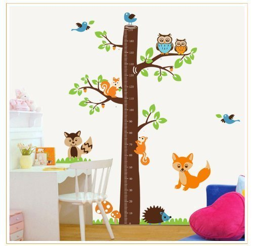 tree-height-chart-0-67-with-birds-fox-owl-and-squirrel-wall-sticker-kids-room-dcor