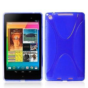 【ノーブランド】Google Nexus 7 スタイリッシュTPU シリコンケース 第1世代 2012年 /第2世代 2013年モデル