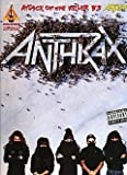 Anthrax -- Attack of the Killer B's: Authentic Guitar TAB by Anthrax (1995) Sheet music