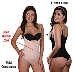 Vedette Braless Bodysuit in Thong 700