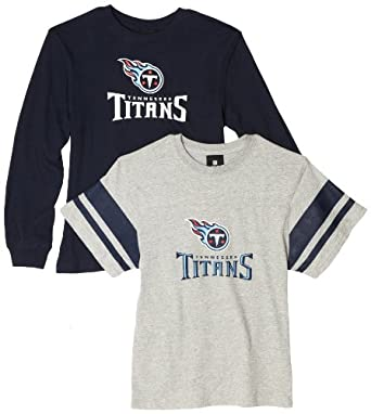 NFL Tennessee Titans Option Tee Combo Pack - R18Nc823 Boys