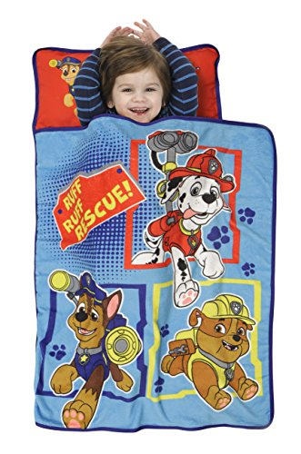 Paw Patrol Toddler Nap Mat, Blue - 1