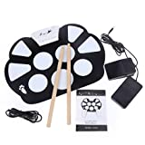 Docooler Portable Electronic Roll up Drum Pad Kit Silicon