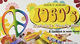 1960\'s Retro Candy Gift Box-Decade Box Gift Basket - Classic 60\'s Candy, 10oz