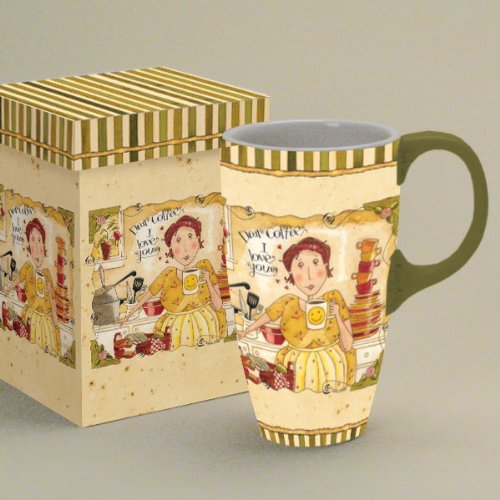 Lang Dear Coffee Latte Mug