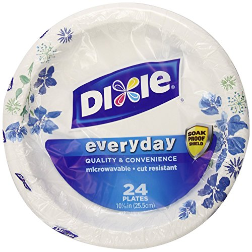 Dixie Plates, 120 Count, 10 1/16 Inches