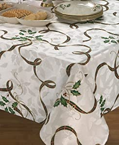 Lenox Holiday Nouveau Ribbon Christmas Napkin, Set of 4