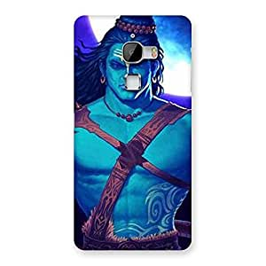 Warior Shiva Blue Back Case Cover for LeTv Le Max