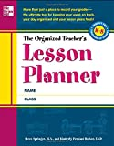 img - for The Organized Teacher's Lesson Planner book / textbook / text book