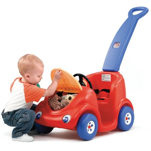 Push Toys For Toddlers : Step push around buggy red thanksgiving day