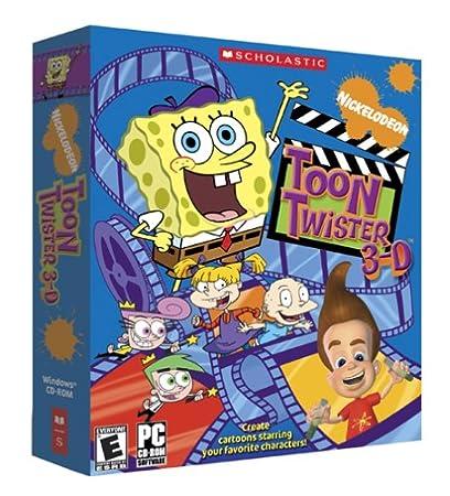 Nickelodeon Toon Twister 3-D (DVD Box)