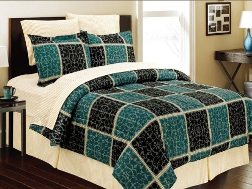 Giant Tile 8Pc Bed In A Bag - King Size