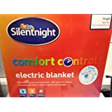 Silentnight Comfort Control Single Electric Blanket 65cm x 135cm