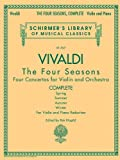 img - for Antonio Vivaldi - The Four Seasons, Complete: for Violin and Piano Reduction book / textbook / text book