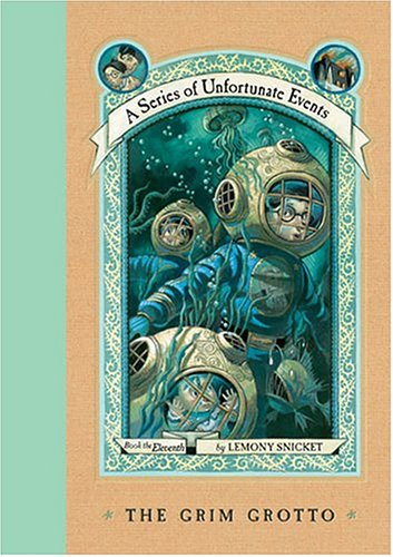 Cover of The Grim Grotto (A Series of Unfortunate Events, Book 11)