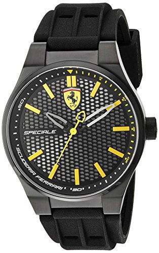 ferrari-mens-quartz-stainless-steel-and-silicone-casual-watch-colorblack-model-830354