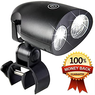 #1 BBQ LED light in 2016! - Lifetime Guarantee! Fits Any Size Bbq or Smoker - Dimmable, Easy Install in seconds on Grill, 360° Rotation, Heat and Water Resistant, Sensor Touch On/Off button. ON SALE