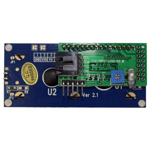 Generic Iic/I2C/Twi Spi Serial 1602 Lcd Display Module Electronic Board For Arduino Diy