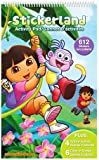 Dora the Explorer and Diego Stickerland Activity Pad - 612 Stickers, Activity Scenes, Color-in Scenes