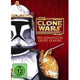Star Wars: The Clone Wars - Die komplette erste Staffel 4 DVDs