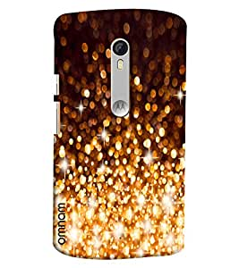 Omnam Crystal Fire Works Galaxy Look Cover For Motorola Moto X Style