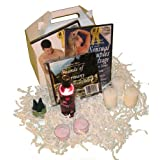 Bridal Shower Massage Gift Box Set: Sensual Couples Massage man and woman DVDs, Relaxation Music CD (2 DVD/1 CD/Gift Box) ~ Shondra Fields