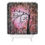 DENY Designs Madart Cherry Blossoms Shower Curtain, 69-Inch by 72-Inch