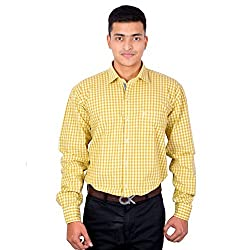 Lecarde Multicolor Smart Casual 8161 Cotton Men Shirt