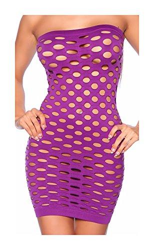 Tube-Kleid mit Cut-Out von luxury & good Dessous
