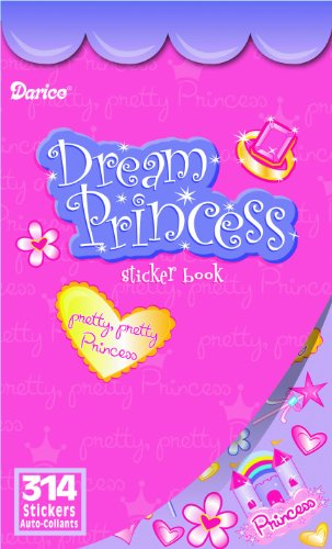 WeGlow International Dream Princess Sticker Book (Pack of 4) - 1
