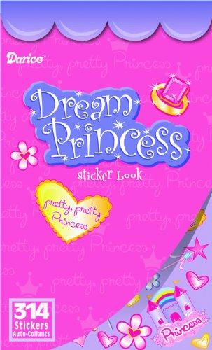 WeGlow International Dream Princess Sticker Book (Pack of 4) - 1
