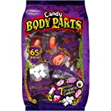 Frankford Gummy Body Parts Candy 65 Pieces Halloween Individually Wrapped (17.2 ox)