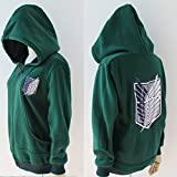 Shingeki No Kyojin Attack On Titan Badge Jacket Wings Of Liberty Hoodies WF-5108