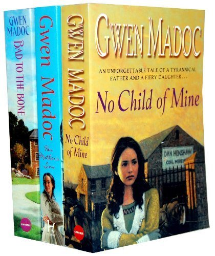 Gwen Madoc 3 Books Collection Set RRP £20.97 (Her Mother's Sins, Bad to the Bone, No Child of Mine)