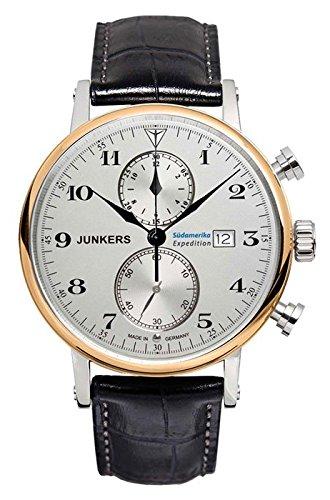 Junkers uomo-Orologio da polso cronografo orologio 65865