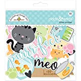 Doodlebug Kitten Smitten Odds & Ends Die Cut Embellishments