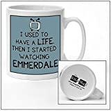 I used to have a life EMMERDALE Cartoon Tv Mug new quick and easy personalised office vintage style Ceramic Tea and Coffee Mug