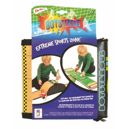 Manhattan Toy Boysterous Boys Extreme Sports Zone ZipBin - 1