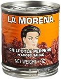 La Morena Chipotle Peppers in Adobo Sauce, 7 oz.
