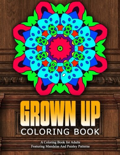 GROWN UP COLORING BOOK - Vol.19: relaxation coloring books for adults (Volume 19) [Charm, Jangle] (Tapa Blanda)