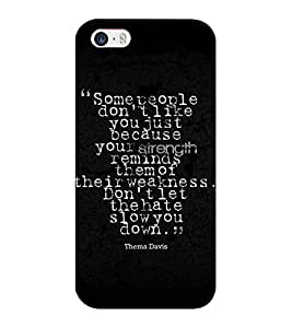 Mental Mind 3D Printed Plastic Back Cover For Iphone 5 - 3DIP5-G632