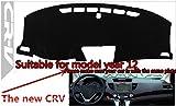 FLY5D®Honda Dashboard Mat Sun Cover Pad Dash Mat (Honda Old CITY before year 2008, Black )