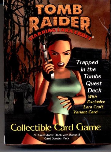 Tomb Raider - Starring LARA CROFT Collectible Card Game - Trapped in the Tombs Quest Deck - 1
