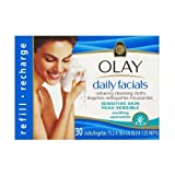 Sensitive x30 Olay - Refill Daily Facials Soothing Cleansing Lathering Cloths