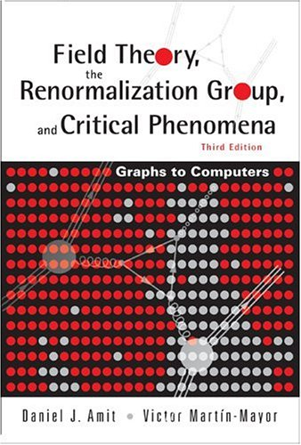 Field theory, the renormalization group, and critical phenomena