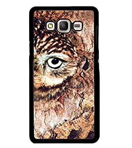 Printvisa Brown Owl Back Case Cover for Samsung Galaxy On7::Samsung Galaxy On7 G600FY